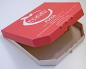 Коробка для пиццы. С печатью