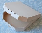 Коробка для пиццы. Без печати.