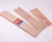 Бумажные пакеты багет в основных трех размерах.