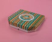 Коробка для пиццы с печатью